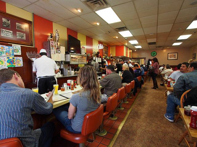 Busy Restaurant: Credit Wilson Hui