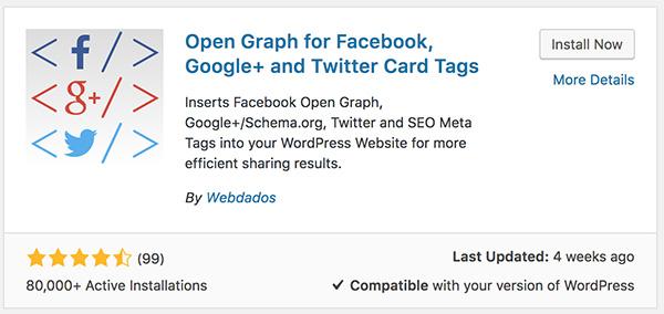 Facebook Open Graph Plugin