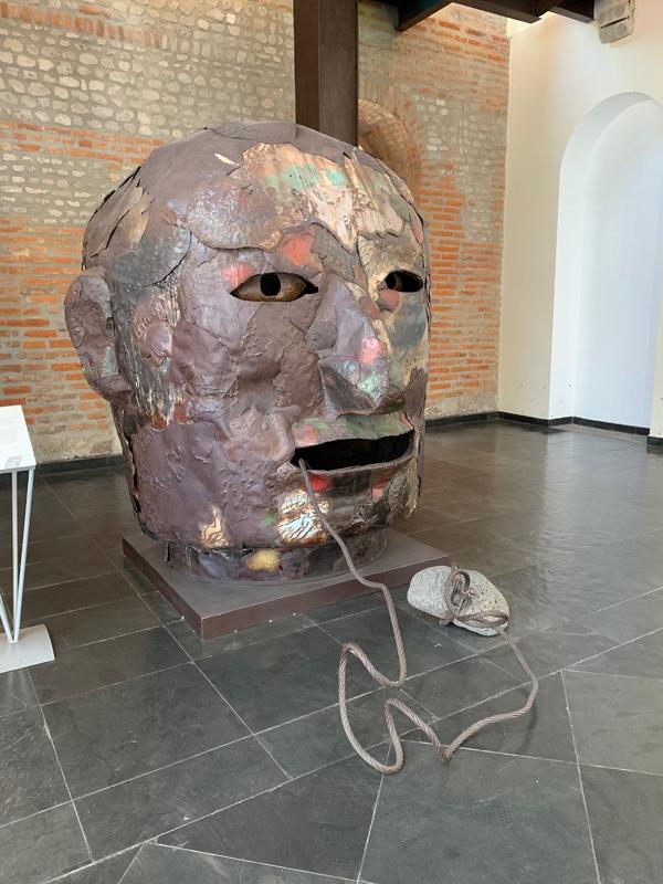 Exhibit in Quito Modern Art Museum