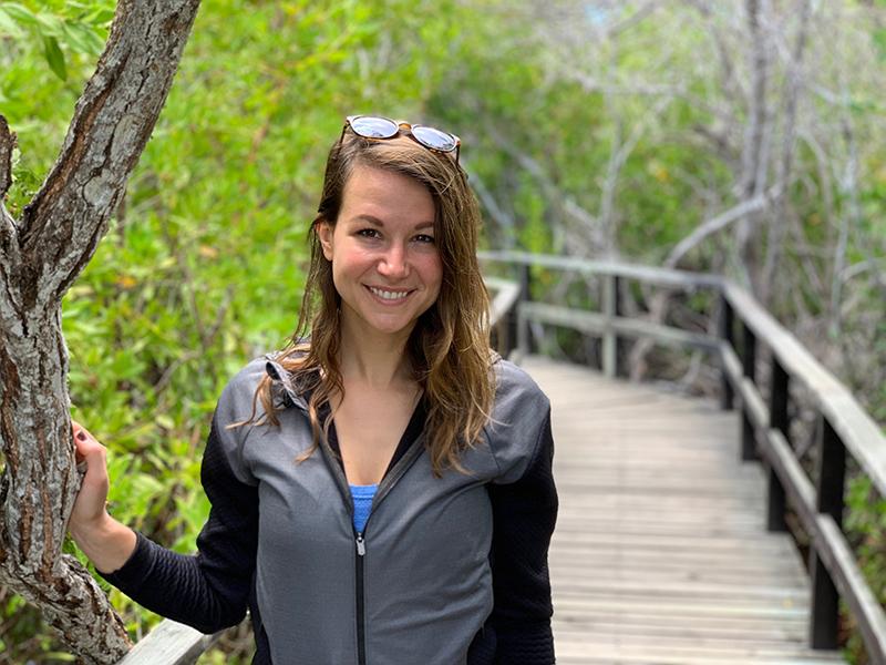 Galapagos Isabela Island Boardwalk