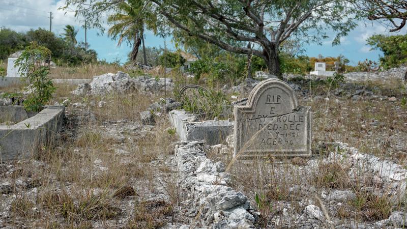 Rolle Family Cemetery Exuma