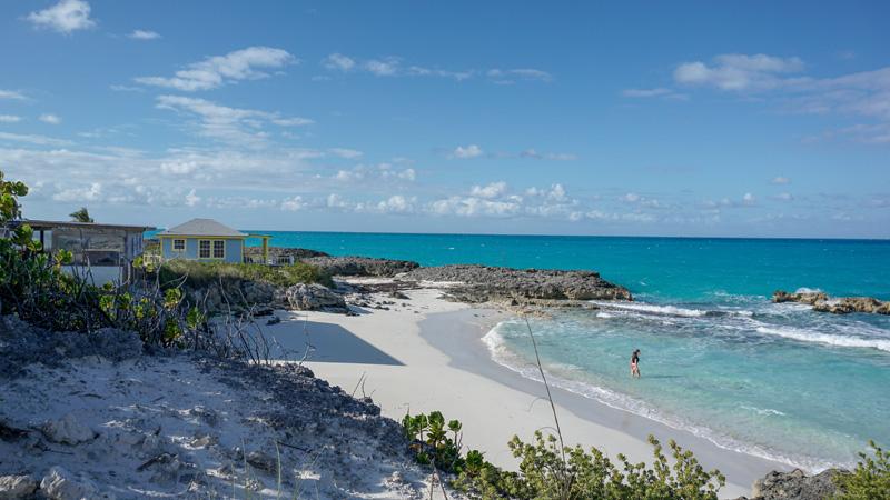 Beach Next to Tropic Breeze Bar